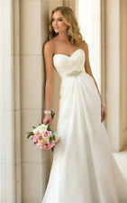 New White/Ivory Bridesmaid/Evening Dress Wedding Gown Stock Size 6-8-10-12-14-16