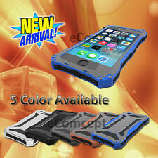 For iPhone 5S/ iPhone 6/6S Plus Rugged Drop proof Metal Aluminum case Bumper