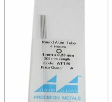 Micro Round Aluminum Tube for Modeling - SPECIAL PRICE!!