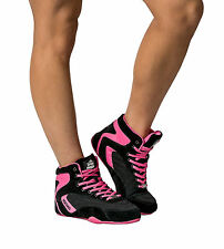 WOMENS LADIES ORION HIGH TOPS GYM SHOES BODYBUILDING SNEAKERS TRAINERS #032