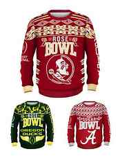 NCAA College Football Bowl Game Playoff UGLY Sweaters - Pick Your Team!