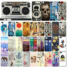 For iPhone 4 4S 5 5S 6 6 plus New Fashion Pattern PC hard Case Cover back skin