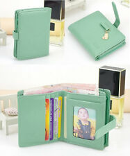 Fashion Lady Women Lovely Purse Clutch Wallet Short Small Bag PU Card Holder