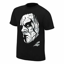 Sting NOTHING'S FOR SURE Black WWE Authentic T-Shirt OFFICIAL LICENSED New