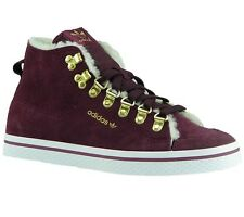 New Adidas Honey Sneaker Trainers Hook Fur Cotton Casual Shoes Red Hightop