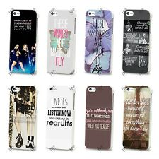 NEW LITTLE MIX MUSIC LYRICS GIRL BAND HARD CASE COVER FOR APPLE IPHONE 4 5 5S