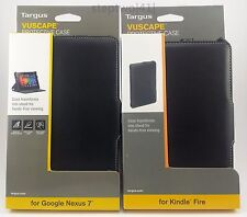 NEW Targus Vuscape Folio Case Stand for Google Nexus 7 (Pre-2013) & Kindle Fire