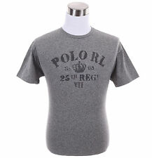 Polo Ralph Lauren Men Solid Classic Fit Graphic Tee T-Shirt - Free $0 Ship