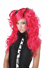 Doll House Japanese Anime Playboy Adult Costume Wig - Pink & Purple