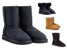 WOMENS 100% AUSTRALIAN SHEEPSKIN SHEARLING SHORT BOOT, Kirkland Signature, New!