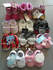 New Zara Guess Dior Disney Baby Toddler Girl Soft Sole Shoes 0-24 M--11 options
