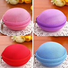 Portable Hard Carrying Case Storage Bag Super Zippered For Earphone/iPod /MP3