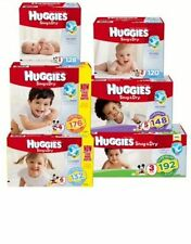 Huggies Snug & Dry SureFit Diapers Size 1 2 3 4 5 6 PICK ANY SIZE FAST SHIPPING
