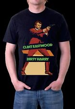 CLINT EASTWOOD DIRTY HARRY Black T-Shirt S M L XL XXL XXXL XXXXL