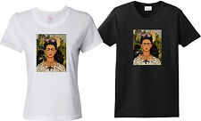 Frida Kahlo Self Portrait With Necklace of Thorns - Women's T-Shirt