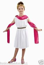 Book Week Girls Greek Dress Roman Queen Toga Venus Athena Party Fancy Dress