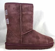 UGG AUSTRALIA CLASSIC SHORT CRYSTAL BOW RED  BOOTS