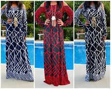 COLD SHOULDER CUT OUT LONG SLEEVE MYSTIC MUSE MAXI DRESS ONE SIZE FITS S - XL!
