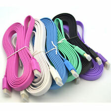 1.5/3/5M HDMI Male Flat Adapter Cable fr Dell HP Lenovo Acer Samsung Laptop HDTV