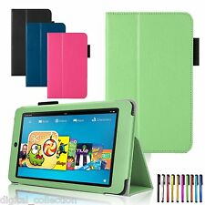 Kindle Fire HD 6 7 4th Gen Tablet 2014 Oct Release Leather Case Cover Wake/Sleep