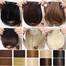 Premium Pretty Girls Clip In on Front Bang Fringe Hair Extensions All Color new