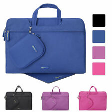 """15"""" 15.4"""" 15.6"""" Laptop Briefcase Waterproof Sleeve Handle Case w/Mouse Pad&Pouch"""