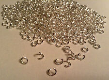 4mm silver plated open Jump Rings Wholesale Jewellery making