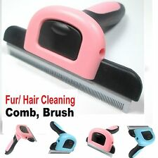 Grandi PICCOLI CANE GATTO PET Deshedding moulting GROOMING Brush RASTRELLO strumento pettine * furre