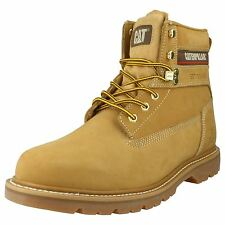 Mens Caterpillar Honey Nubuck Leather Lace Up Ankle Boots Style GLENDALE