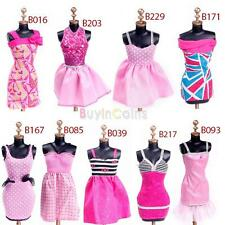 Kid Child Party Evening Dresses Clothes for Barbie Dolls Outfit Set Suit Sexy