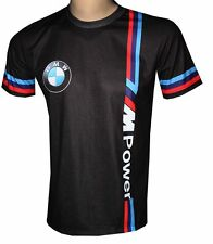 BMW M Power Black T- Shirt - Sided All Over Sublimation Print T-Shirt