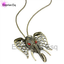 LADIES GIRLS ANIMAL ZOO PARK CHAIN TRENDY BLING CELEBRITY STYLE NECKLACE