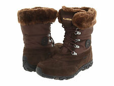 NWOB Allrounder by Mephisto West Boots Size 7 Espresso Suede Brown $199