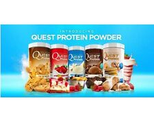 QUEST PROTEIN POWDER 2lb No Gluten Soy or Added Sugar Bakes Well CHOOSE FLAVOR