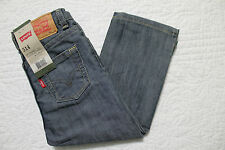 NEW INFANT TODDLER BOY'S LEVI'S 514 STRAIGHT LEG SLIM FIT DENIM BLUE JEANS NWT