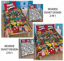 FUnda edredon cama doble/individual Marvel Comics Defenders