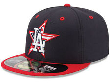 Official MLB 2014 Los Angeles Dodgers July 4th New Era 59FIFTY Fitted Hat