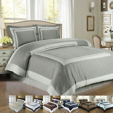 Patchwork Hotel Duvet cover set 100%Egyptian Cotton (Available in 3 Sizes)
