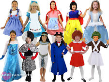 GIRLS SCHOOL BOOK WEEK FANCY DRESS COSTUME CHOOSE STYLE CHILD'S WORLD BOOK DAY