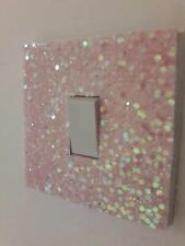 Grade 3 Glitter Fabric Light Switch Cover Style Light Switch *NEW COLOURS ADDED*