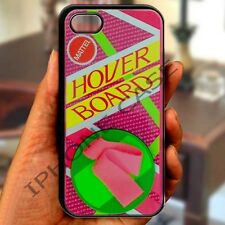 Back To The Future Hover Board black iphone 4 4s 5 5s 5c 6 6 plus case cover