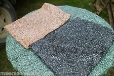 NIP XL Granite Round Vinyl Fitted Dining Tablecloth Patio Picnic Table Cover Pad