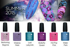 CND Shellac GARDEN MUSE Summer 2015 Collection UV Gel Nail Color Polish NEW