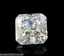 New RADIANT SQUARE CUT Loose Lannyte Lab Created Diamond D Flawless 1,2,3,4,5 ct