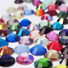 12ss Genuine Swarovski Hotfix Iron On Rhinestone nail Crystal 3.2mm ss12 setHB