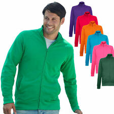 Fruit of the Loom Herren Sweatjacke Sweatshirt Pullover Pulli Jacke Shirt  S-XXL