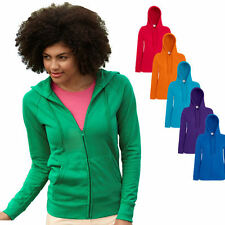 Fruit of the Loom Damen Kapuzenpullover Sweatjacke Sweatshirt Shirt Pullover