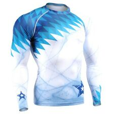 FIXGEAR CFL-65 Compression Base Layer Shirts Under Skin Tight Gym Training MMA