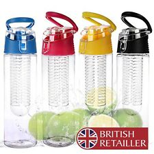 Fruit Infusing Water Bottle Health Drink Juice Sport Gym Fitness Infusion Infuse