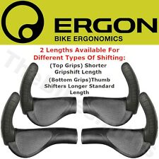 Ergon GP3- L & S Standard Grip & GripShift  w/Adjustble Bar end Ergo MTB /Hybrid